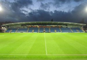 An empty Proact Stadium