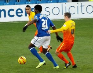 Gnanduillet looks to attack