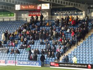 The visiting fans