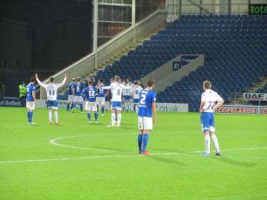 Rochdale's goal is disallowed