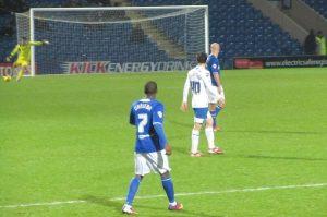 Tendayi Darikwa joins the action as Lee takes a goal kick