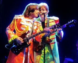 The famous Sgt Pepper outfits