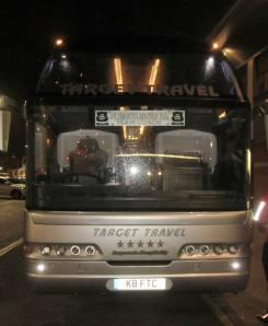 The Argyle team coach