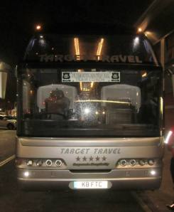 The Argyle team coach