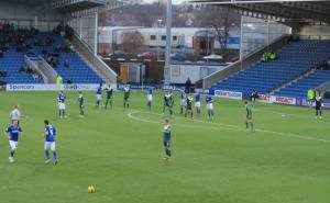 A Chesterfield free kick
