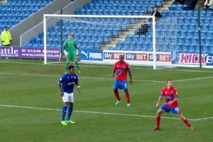 The Spireites look to attack
