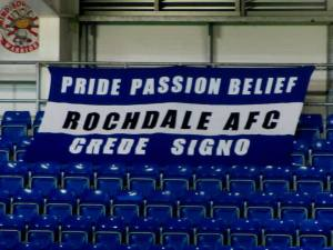 Rochdale in good form