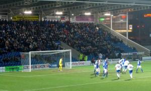 Rochdale attack early on