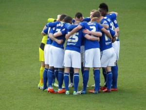 Chesterfield huddle