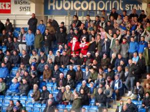 The Hartlepool fans