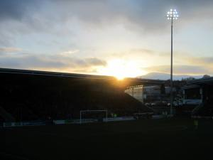 Sunset over the Proact