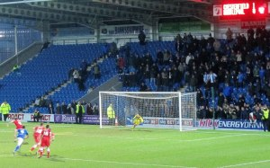 Hartlepool equalise from the spot