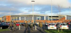 The home of Chesterfield FC