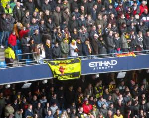 Watford supporters