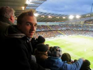 My fourth match at the Etihad