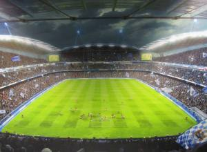 How the stadium will look after the developments