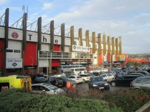 A ray of sunshine over Bramall Lane