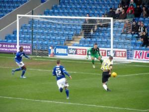Shamir Goodwin opens the scoring