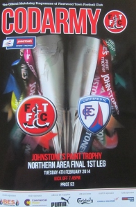 Fleetwood v Chesterfield