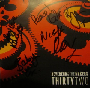 My signed copy of ThirtyTwo