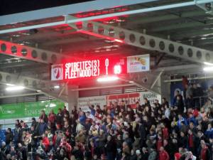 Fleetwood grab a late goal