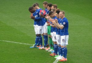 A minutes applause for David Blakey