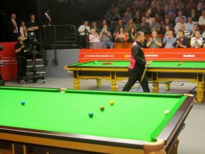 Mark Allen enters the Crucible