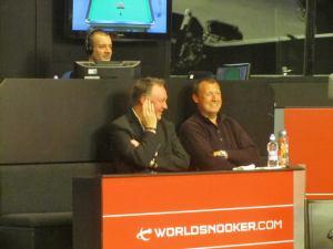 Darts legend Wayne Mardle is in attendance