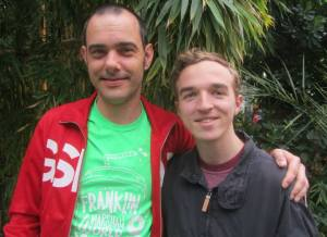 with one of Snooker's biggest fans Chris (aka The Statman)