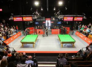 The home of snooker