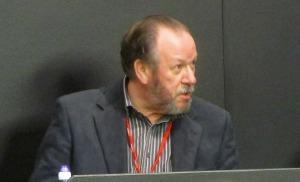 Former referee Alan Chamberlin