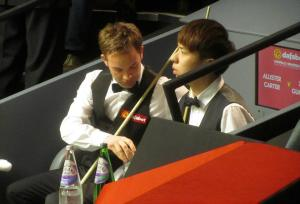 Ali Carter and Xiao Guodong