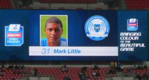 Former Spireites Mark Little