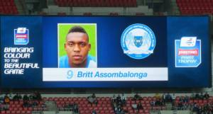 Peterborough danger man Britt Assombalonga