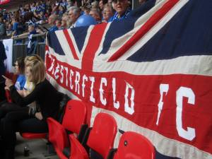 A Chesterfield flag