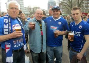 Pre-match pint