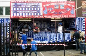 Merchandise stalls