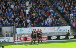 Matty Blair opens the scoring