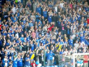Chesterfield fans celebrate