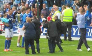 The lap of honour