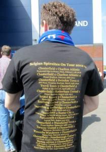 Belgian Spireites t-shirt