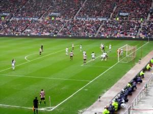 A Sunderland corner