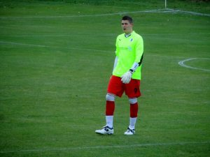 Not the nicest goalkeeping attire I've ever seen!