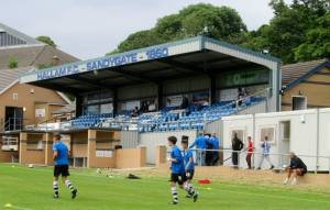 The 210-seater stand