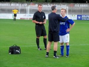 Jamie Hewitt treats Milner