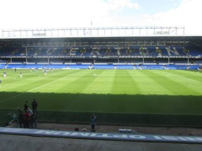Inside Goodison Park