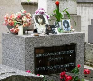 Jim's headstone