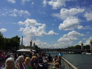 Cruising down the River Seine