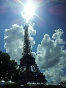 A beautiful day in Paris