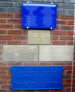 Bricks and plaques